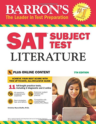 Barron's SAT Subject Test Literature, 7th Edition