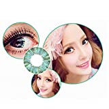 Contacts Lens For Eyes, Htgtai Color Blends Pure Hazel Contact Lenses Green Yearly Use Clover