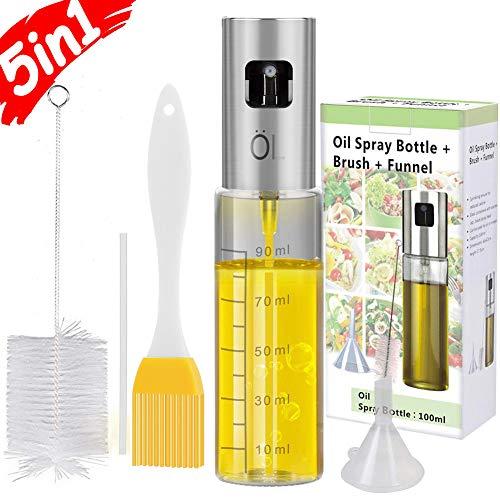 Olive Oil Sprayer Mister INVOKER Oil Dispenser Bottle 100ml