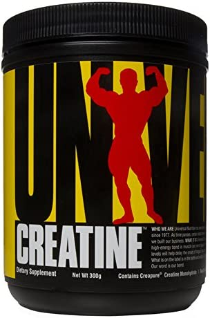 Universal Nutrition Creatine Standard Kreatin Muskelaufbau Regeneration Supplement 300 g