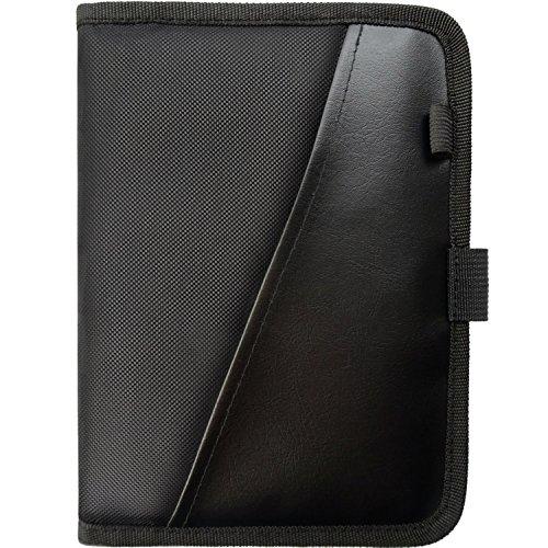 PlusXpres Glove Box Console Organizer - Auto Document Case - Owner Manual Pouch - Vehicle Storage Wallet Registration & Insurance Card - Premium Car Paperwork Holder -