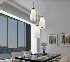 GOWE Gorgeous Dining Room Modern Pendant Crystal Chandelier Lighting Fashion design lights 3 bulbs Glass lampshade