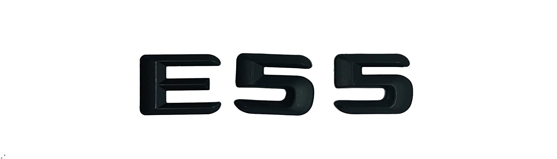 E63 SUKRAGRAHA Replacement Model No Rear 3D Sticker Emblem Badge for Mercedes-Benz E55 E63 AMG