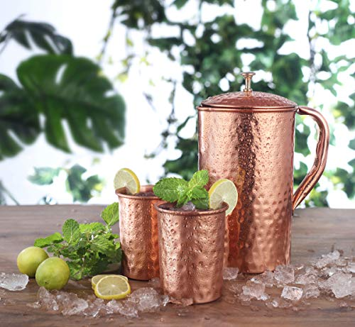 copper water jug - 1