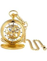 3780-G Gold-Plated Mechanical Pocket Watch