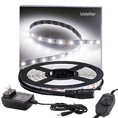 Dimmable led light strip kit with ul listed power supply 300 ustellar dimmable led light strip kit with ul listed power supply 300 units smd 2835 leds mozeypictures Choice Image
