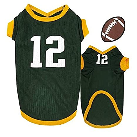 new product 39cd5 bbe20 Amazon.com : Casual Canine Aaron Rodgers Color & Number ...