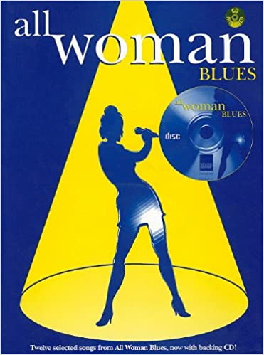 Download All Woman: Blues (Piano/Vocal/Guitar) (Book & CD) PDF, azw (Kindle)