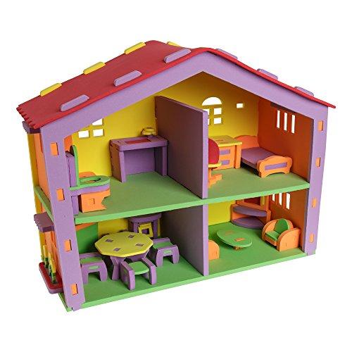 Sprogs Doll House EVA Foam Puzzle, SPG-ATN1058-SO