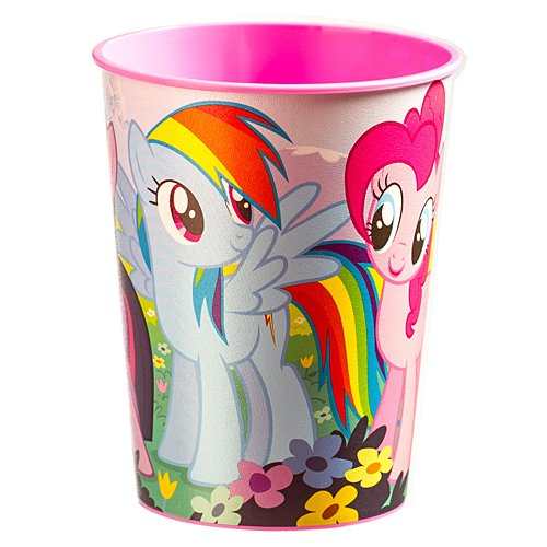 Plastic Favor Cup | My Little Pony Friendship Collection | Party Accessory -