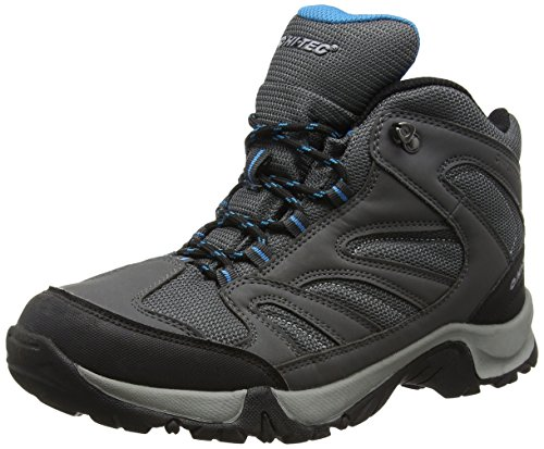 Cool High Charcoal Grey Pioneer Men's Black Boots Hi Rise Hiking Tec 6n7wxUZ