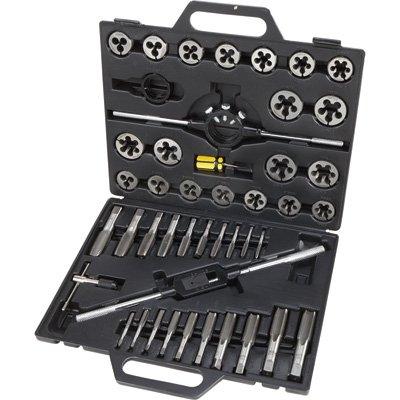 Klutch Tungsten Tap & Die Set - 45-Pc., (Rethreader Die)