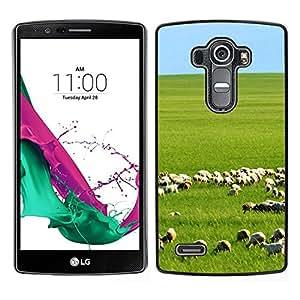// PHONE CASE GIFT // Duro Estuche protector PC Cáscara Plástico Carcasa Funda Hard Protective Case for LG G4 / China Prairie /