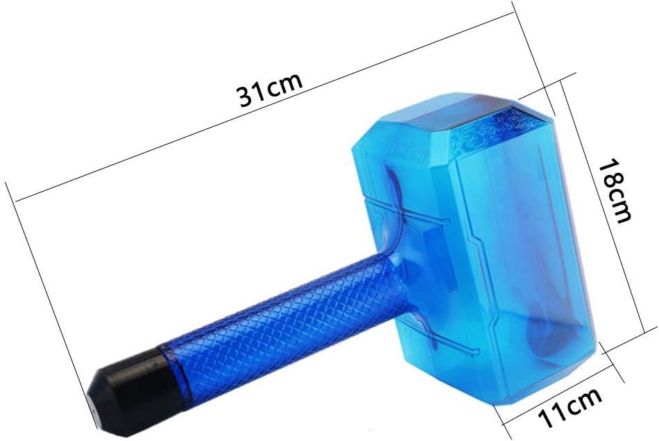 LAL6 Quake Hammer Sport Bottiglia di plastica e BPA Bottiglia d'Acqua per Studenti Maschi e Femmine casa Luce Viaggi Tazza a Tenuta stagna per Alpinismo Viaggio 1.7L Nero