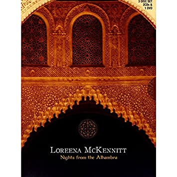 dvd loreena mckennitt nights from the alhambra