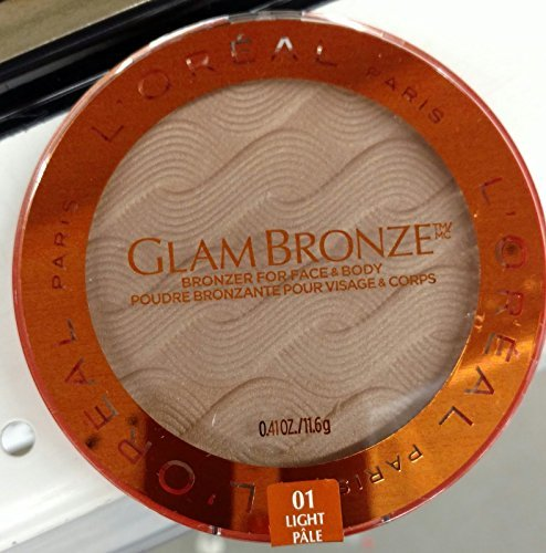 L'Oreal Glam Bronze for Face & Body Bronzer, 01 Light