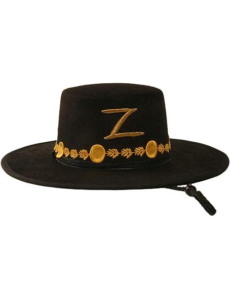 Zorro Cappello per adulti  Amazon.it  Giochi e giocattoli 36f014a45904