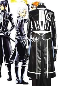 D.gray-man Kanda Yu Japanes Cosplay Costumes (Custom-Made)