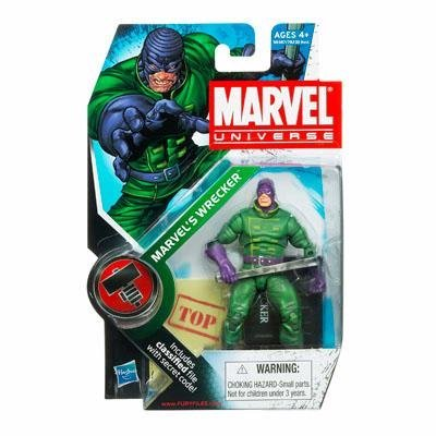 Marvel Universe 3 3/4 Inch Series 9 Action Figure Marvels Wrecker