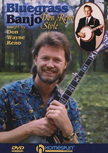 Bluegrass Banjo - Don Reno Style [DVD] [Region 1] [NTSC] (Bluegrass Banjo 1 Dvd)