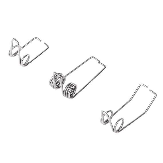 Silver JOYKK Trumpet Water Drain Valves Steel Wire Spring Trombone Wind Instruments Accessory 1# Small