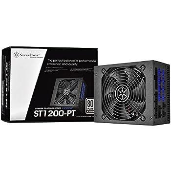 SilverStone Technology Strider 1200W 80 Plus Platinum Modular PSU 1200 Power Supply (PS-ST1200-PT)