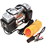 Portable Air Compressor Pump, 12V DC Digital Car Air Tire Inflator Pump With Pressure Gauge by 150 PSI for Car, Truck, RV, Bicycle and Other Inflatables (US STOCK) (2832-Tire Inflator)