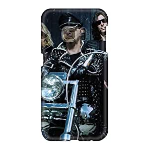 Great Hard Phone Case For Samsung Galaxy S6 With Customized High Resolution Judas Priest Band Pictures CristinaKlengenberg