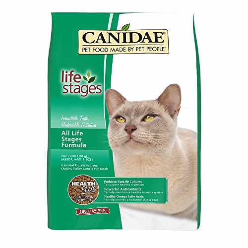 Canidae Fish Food - Canidae All Life Stages Cat Dry Food Chicken, Turkey, Lamb & Fish Formula, 15 Lbs