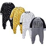 Gerber Baby Boys' 4 Pack Sleep 'N Play