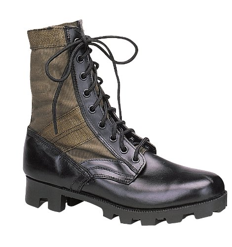 Rothco 8'' GI Type Jungle Boot, Olive Drab, Regular 8