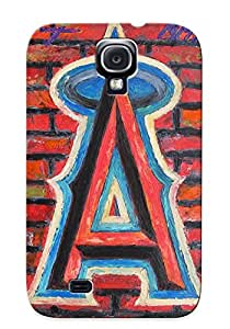 Kathewade Top Quality Case Cover For Galaxy S4 Case With Nice Los Angeles Angels Of Anaheim Baseball Appearance