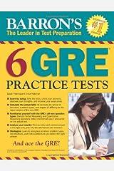 Barron's 6 GRE Practice Tests Paperback