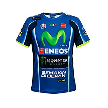 Valentino Rossi Yamaha M1 Replica Offizielles T Shirt Amazon De Auto