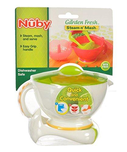 Nuby Garden Fresh Mash N' Feed (White)
