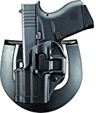 BLACKHAWK! SERPA CQC Concealment Holster for Glock 43, Left, Matte Black