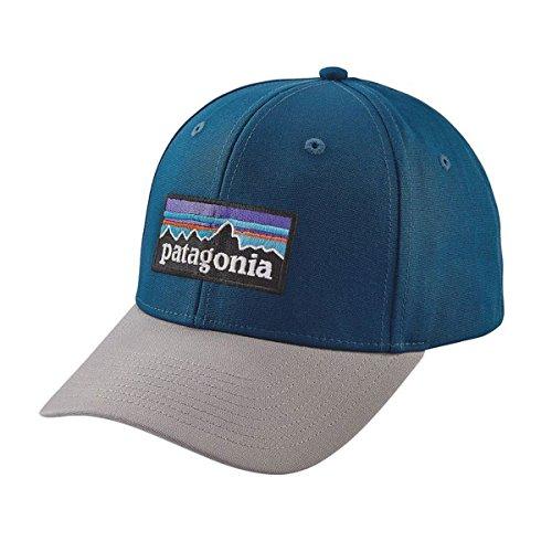 Patagonia Lightweight Hat (Patagonia P-6 Logo Roger That Snapback Hat (Big Sur Blue))