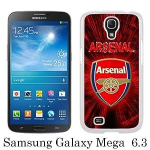 Arsenal 4 White New Style Custom Samsung Galaxy Mega 6.3 Cover Case