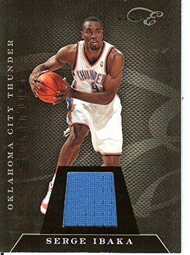 2010-11 Elite Black Box Status Memorabilia #35 Serge Ibaka MEM/99 Thunder from Elite Black Box