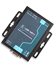 USR-M511RS232 RS485 RS422 Ethernet Modbus Gateway 10/100Mbps Ethernet Interface Serial to Ethernet Supports Modbus RTU/ASCII to Modbus TCP Modbus Slave Master Support None Odd Even Mark Space