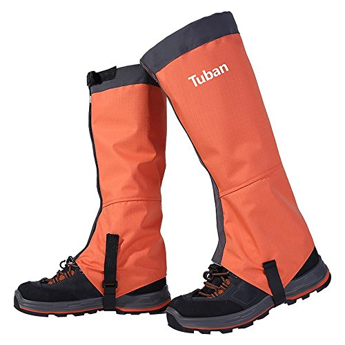 Eagsouni Hiking Gaiters Ski Snow Gaiters Waterproof Boot Shoes High Leg Cover for Outdoor Walking Climbing Fishing Research Hunting Trimming Grass