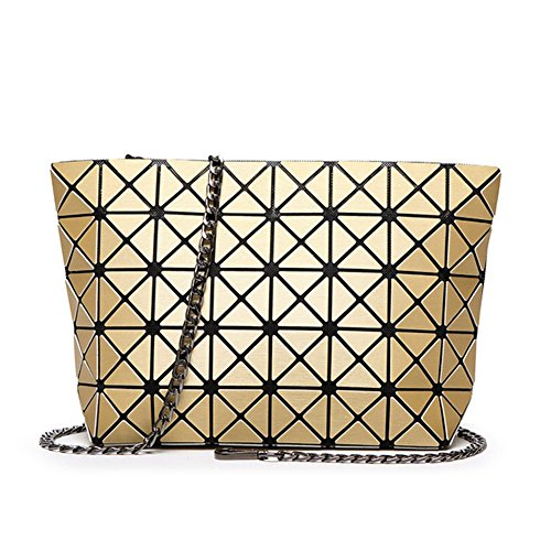 Find-me Matt Brushed Geometric Variety Pack Japanese Folding Chain Shoulder Messenger - Australia Cards Gift Discounted