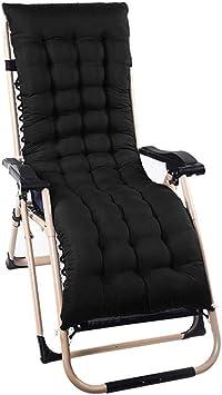 sillones de repuesto Cojines de solárium para sillones Cojines de jardín clásicos Sillas de jardín Tumbonas Cojines gruesos para hamacas Fundas de asientos para asientos de relajación al aire libre: Amazon.es: Deportes