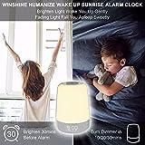 Touch Wake Up Night Light with Sunrise Simulation