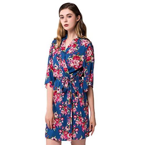 090f4fbc82 85%OFF Isoft Women s Short Kimono Robe