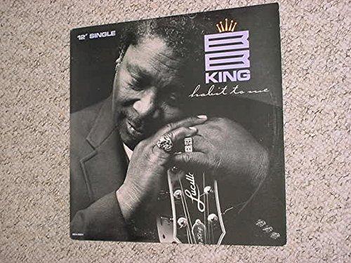 Blues BB King habit to me 12 inch single record