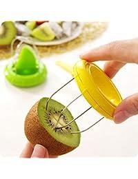 Purchase YING LAN Vegetable Fruit Peeled Kiwi Cutter Twister Slicer Kitchen Peeler Divider Kitchen Fruit Tools Fruit Corers... lowestprice