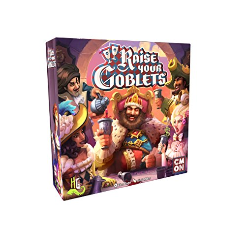 Raise Your Goblets Board Game (Board Goblet Game)