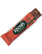 Adonis Low Sugar Nut Bar - Barre aux Noix de Pécan et au Cacao Sans Sucres Ajoutés | 100% Naturelle, Faible teneur en Sucre et Glucides, Sans Gluten, Vegan, Keto, Paleo, Superfood