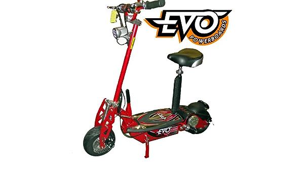 EVO Powerboard 1000W 36V RT C920 Red - Patinete con silla ...